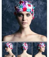 花びら スイムキャップ 水泳帽 水着付属品 海 プール bna0011-1