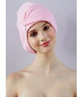 ガーベラルームウエア 吸水性抜群 風呂上がり速攻髪乾かし帽子 mb10237-1