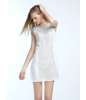 ガーベラレディース 欧米風 カジュアル ゆったり 快適 通気 袖なし 丸首 Aライン ワンピース  mb10399-1