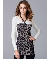 ガーベラレディース ファッション フランネル 着やせ 豹柄 ワンピース  mb10582-2