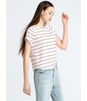 ガーベラレディース 欧米風 カジュアル 丸首 Tシャツ mb10901-2