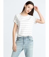 ガーベラレディース 欧米風 カジュアル 丸首 Tシャツ mb10901-3