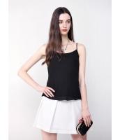 ガーベラレディース ファッション 着やせ ベーシック コーデアイテム 純色 シフォン キャミソール mb10947-2