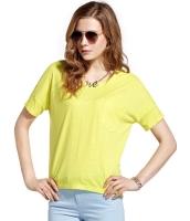 ガーベラレディース ストリートファッション シンプル リラックス 綿質 丸首 Tシャツ mb10954-1