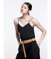 ガーベラレディース エレガント ファッション ストレート ゆったり ダブルストラップ コーデアイテム キャミソール mb11003-1