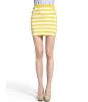 ガーベラレディース シンプル ファッション 太いボーダー 着やせ ミニスカート mb11092-1