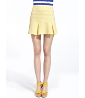 ガーベラレディース ストリートファッション カジュアル 通気性 ぺプラム裾 Aライン ミニスカート mb11094-2