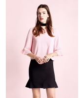 ガーベラレディース ファッション ストレッチ性 非対称 ぺプラム コーデアイテム スカート mb11109-2