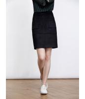 ガーベラレディース ファッション エレガント シンプル ストレッチ性 スエード ひざ上スカート mb11130-2
