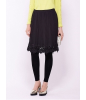 ガーベラレディース ファッション ロマンチック プリーツ 立体花柄 リラックス レギンススカート mb11146-1