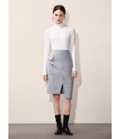 ガーベラレディース エレガント ファッション 非対称 ハイロー コーデアイテム スカート mb11156-2