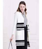 ガーベラレディース 欧米風 ファッション ノーカラー ゆったり 長袖 ロング丈 ニットウェア mb11189-2