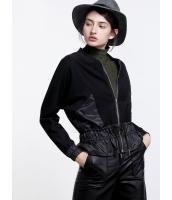 ガーベラレディース 欧米風 エレガント ゆったり 裾 紐調節 長袖 ジャケット mb11213-1