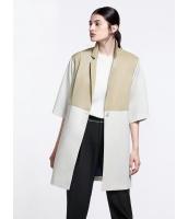 ガーベラレディース 欧米風 カジュアル ゆったり ファッション ステンカラー コート mb11223-1
