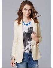 ガーベラレディース ファッション シンプル ミディアム丈 カジュアル テーラードジャケット mb11274-1