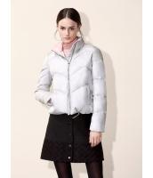 ガーベラレディース シンプル ファッション ショート丈 長袖 キルティングジャケット mb11295-2