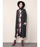 ガーベラレディース ファッション シンプル コーデアイテム ゆったり ロング丈 カーディガン mb11296-2