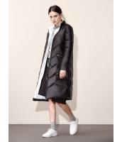 ガーベラレディース シンプル ファッション 長袖 ロング丈 キルティングコート mb11301-1