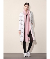 ガーベラレディース シンプル ファッション 長袖 ロング丈 キルティングコート mb11301-2