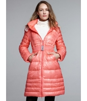 ガーベラレディース ファッション カジュアル 田園風 小花 ミディアム丈 フード付き ダウンコート mb11338-3