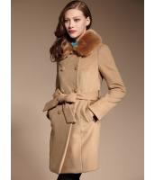 ガーベラレディース エレガント ロマンチック Aライン裾 フリースコート (ファー襟特典付き) mb11362-1