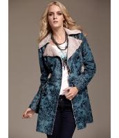 ガーベラレディース ファッション ヒョウ柄 着やせ アウター トレンチコート ショートコート mb11366-1
