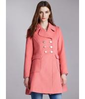 ガーベラレディース エレガント ファッション ウエスト引き締め Aライン裾 フリースコート mb11383-2
