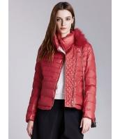 ガーベラレディース ファッション クラシック ラクーンファー襟 ショート丈 キルティングジャケット mb11389-3