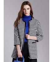 ガーベラレディース ファッション OL 千鳥格子 コート mb11416-1