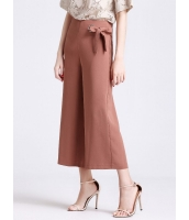 ガーベラレディース シンプル ファッション 不規則 八分丈 ワイドパンツ mb11423-1