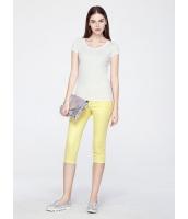 ガーベラレディース ファッション シンプル 着やせ ライトストレッチ 七分丈 カプリパンツ mb11470-3