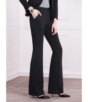 ガーベラレディース ファッション エレガント OL ロングパンツ ベルボトム mb11492-1