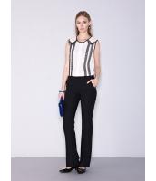 ガーベラレディース ファッション OL風 コーデアイテム ロングパンツ ベルボトム mb11505-1