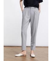 ガーベラレディース ファッション エレガント OL カプリパンツ mb11514-2
