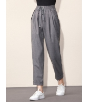 ガーベラレディース カジュアル ファッション コーデアイテム 九分丈 ロングパンツ mb11537-2
