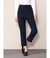 ガーベラレディース ファッション シンプル コーデアイテム ウエスト 紐調節 ロールアップ ゆったり スウェットパンツ mb11538-1