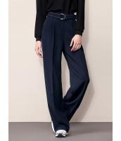 ガーベラレディース ファッション シンプル エレガント ゆったり ワイドパンツ (ウエストバンド特典付き) mb11542-1