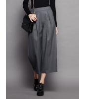 ガーベラレディース シンプル ファッション コーデアイテム 八分丈 ワイドパンツ mb11546-2
