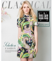 ガーベラレディース チャイナードレス風ワンピース ニューバージョン ファッション ワンピース mb11583-2