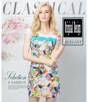 ガーベラレディース ファッション 丸首 ワンピース mb11639-2