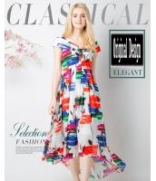ガーベラレディース ユーロ風 ゆったり 大きい裾 シフォン ワンピース ミディアム丈 ゆったり mb11671-1