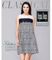 ガーベラレディース ファッション 小花 袖なし ゆったり 大きいサイズ ワンピース mb11692-1