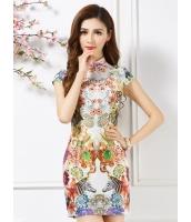 ガーベラレディース ファッション チャイナー風 ニューバージョン チャイナードレス ワンピース mb11756-1