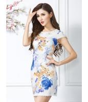 ガーベラレディース ファッション チャイナー風 オーガンザ ワンピース mb11764-1