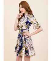 ガーベラレディース ファッション プリーツ ワンピース mb11795-1