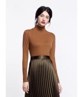 ガーベラレディース ファッション ベーシック タートルネック 着やせ セーター mb11921-2