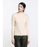 ガーベラレディース ファッション ベーシック タートルネック 着やせ セーター mb11921-3