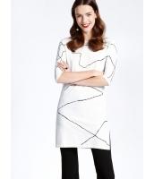 ガーベラレディース ファッション 七分丈袖 側面スリット ロング丈 ニットウェア セーター mb11923-1