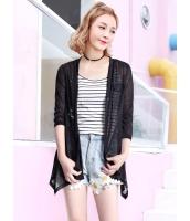 ガーベラレディース 韓国風 カジュアル ファッション 通気性 七分丈袖 涼しい カーディガン mb11985-3