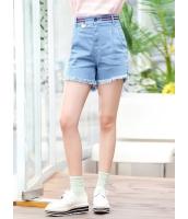 ガーベラレディース 韓国風 ファッション フリンジ 裾 デニム ジーンズ ショートパンツ mb12036-1